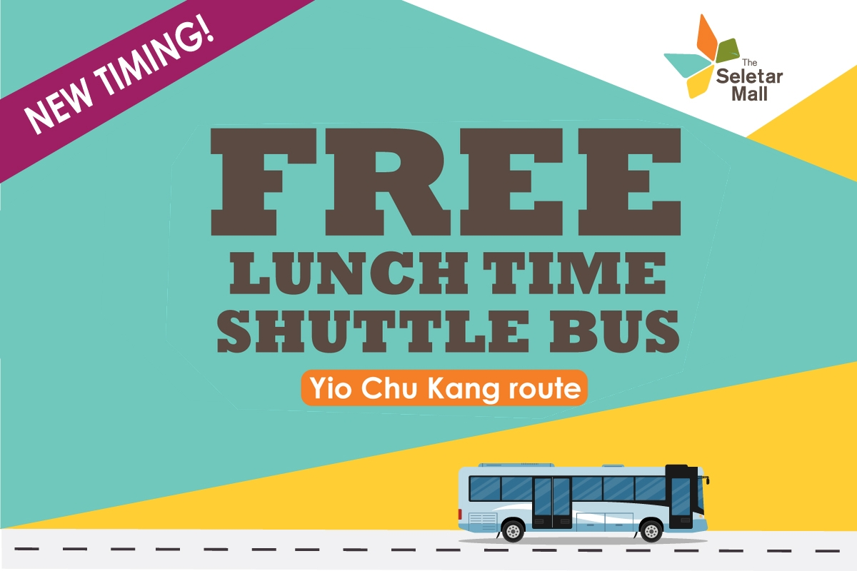 Free Lunch Time Shuttle Service - Yio Chu Kang Route